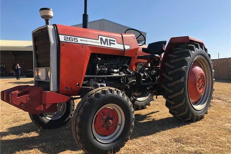 2WD tractors Fairly Used Massey Ferguson 265 for Sale Tractors