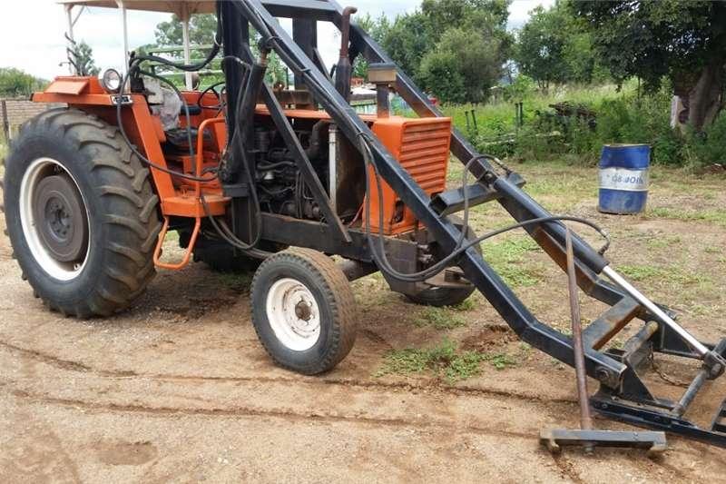 2WD tractors Fiat 780 Loader 4X2 Tractors
