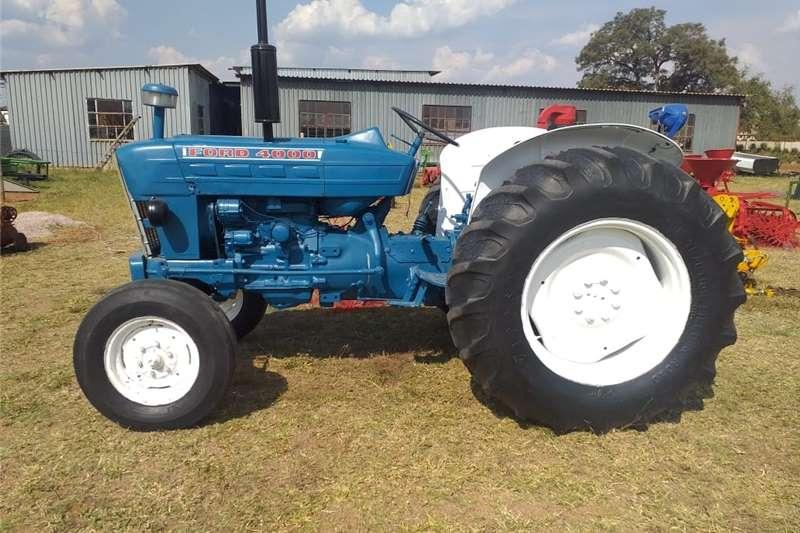 2WD tractors FORD 4,000 Tractors