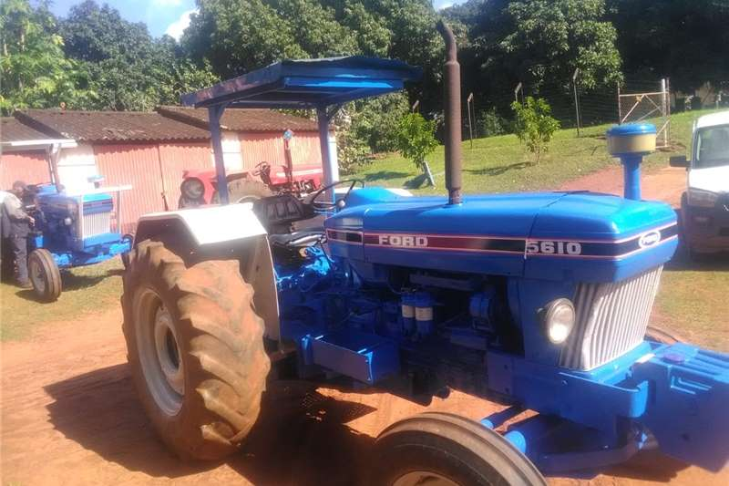 2WD tractors Ford 5610 Tractor Tractors