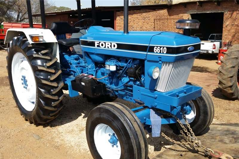 2WD tractors Ford 6610 4X2 Pre Owned Tractor Tractors