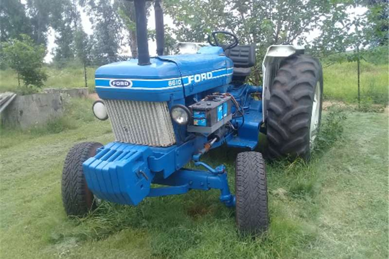 2WD tractors Ford 6610 tractor  for sale , blue  very neat 0749 Tractors