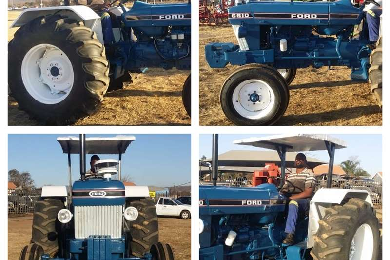 2WD tractors FORD 6610 TRACTOR Tractors