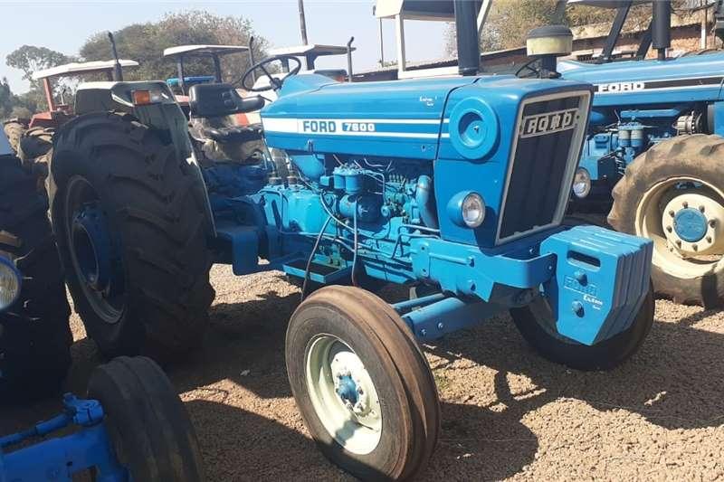 2WD tractors Ford 7600 4X2 Tractors