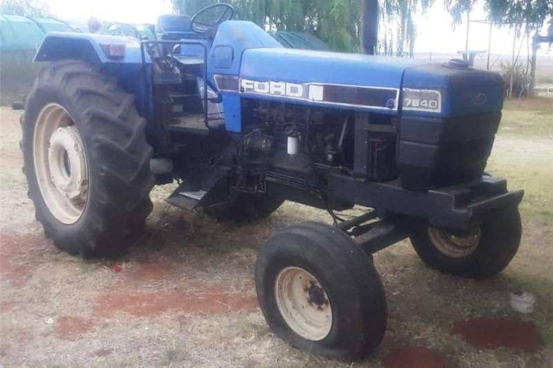 2WD tractors Ford 7840 Tractors