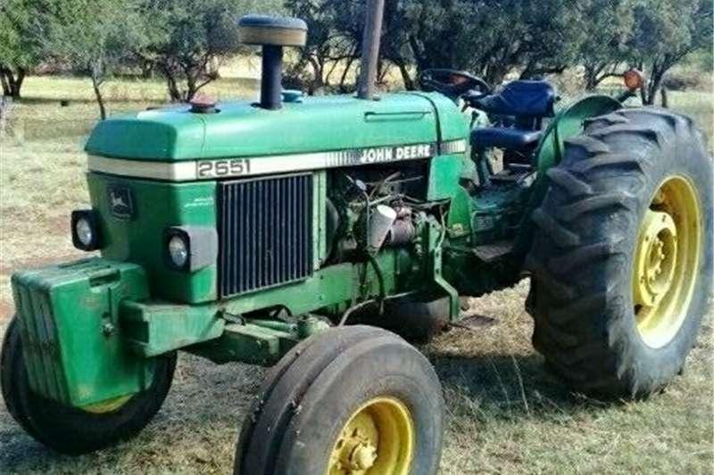 Tractors 2WD tractors John deere 2651