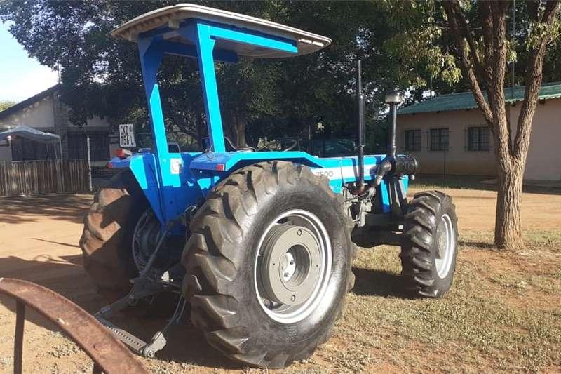 2WD tractors LANDINI 4X4 POWER STEARING 7500 Tractors