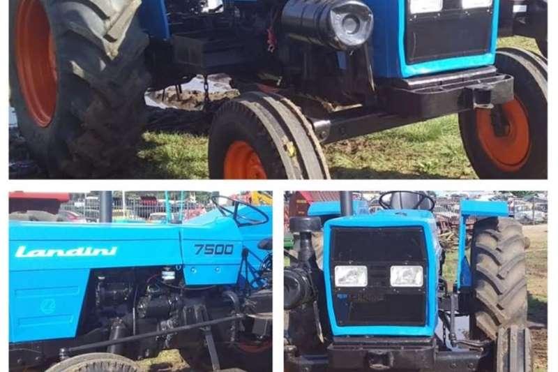 2WD tractors ?? LANDINI 7500 2wd tractor Tractors