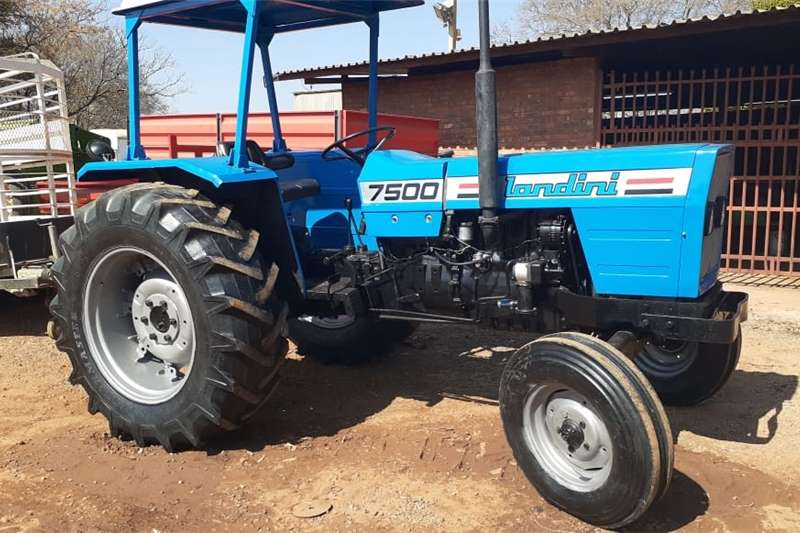 2WD tractors Landini 7500 4X2 Tractors