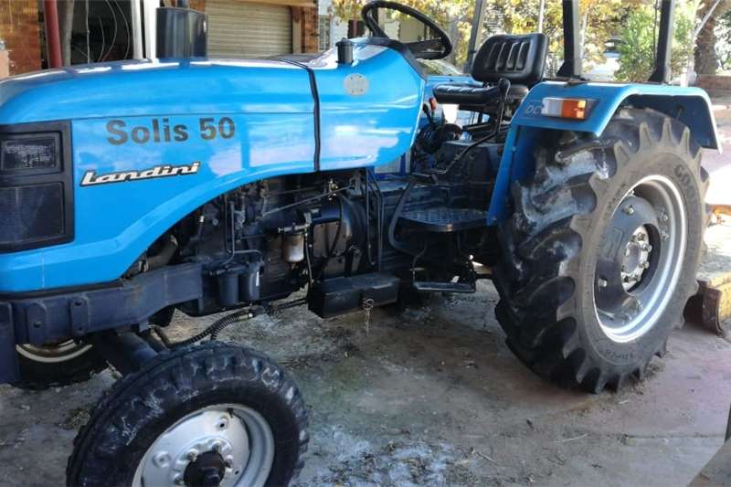 Tractors 2WD tractors Landini Solis 50 2x4model 2013