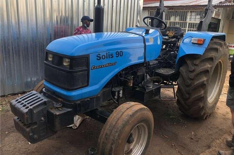 2WD tractors Landini Solis 90 2x4 Tractors