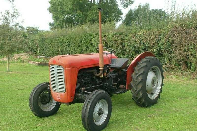 2WD tractors Massey Ferguson 35 Diesel Tractor Tractors
