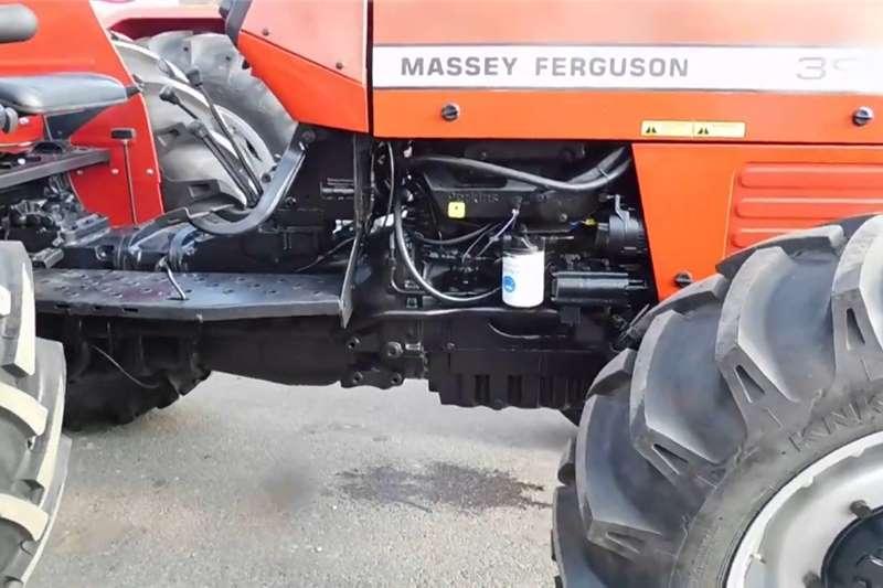2WD tractors Massey Ferguson 390 4x4 Tractors