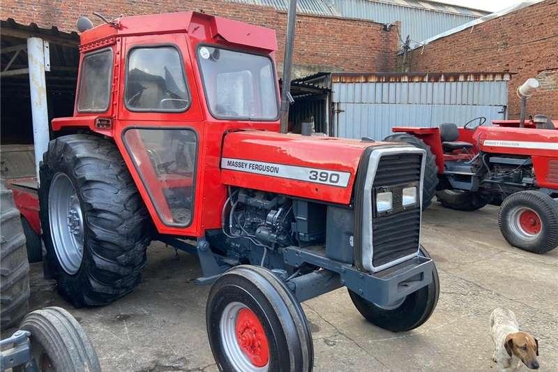 2WD tractors Massey ferguson 390 Cab tractor Tractors