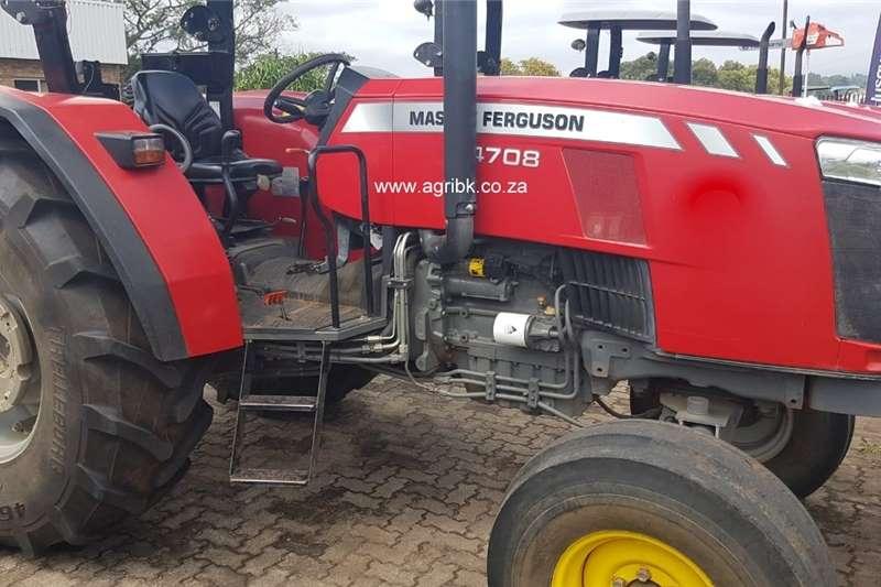 Tractors 2WD tractors Massey Ferguson 4708 2017