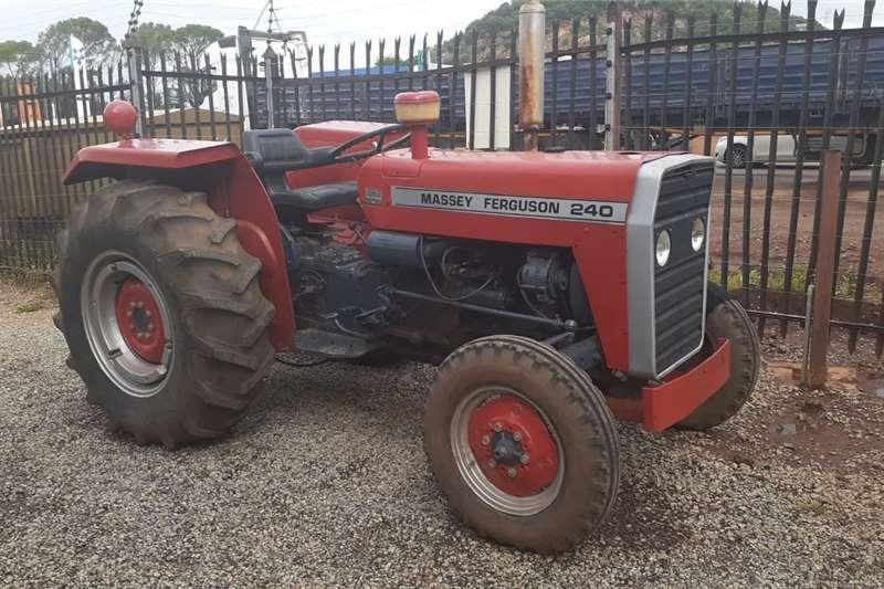 2WD tractors Massey Ferguson (MF) 240 4X2 Tractors