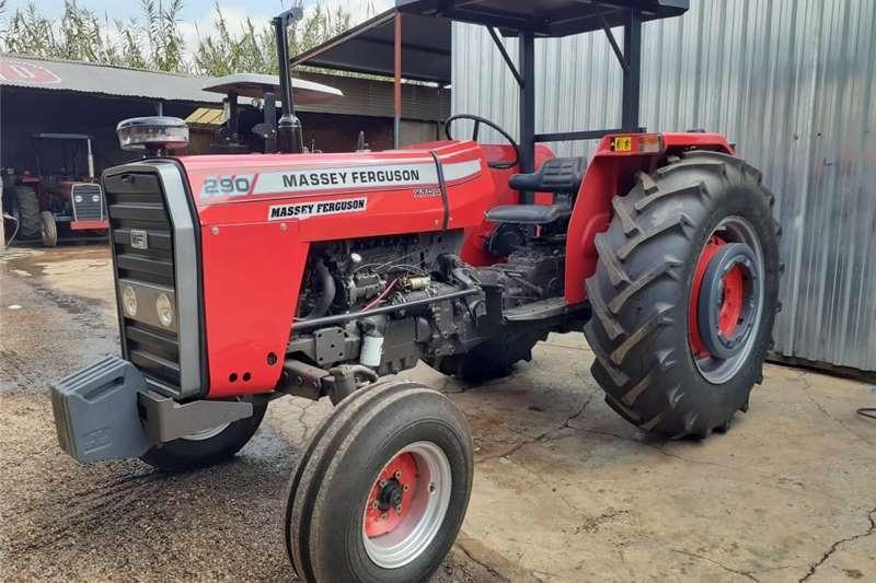 2WD tractors Massey Ferguson (MF) 290 4X2 Tractors