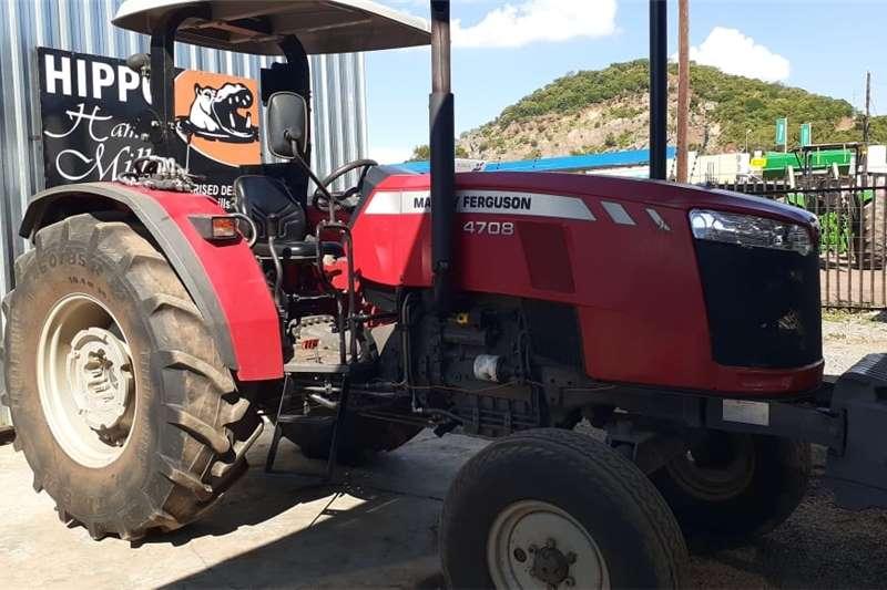 2WD tractors Massey Ferguson (MF) 4708 4X2 Tractors