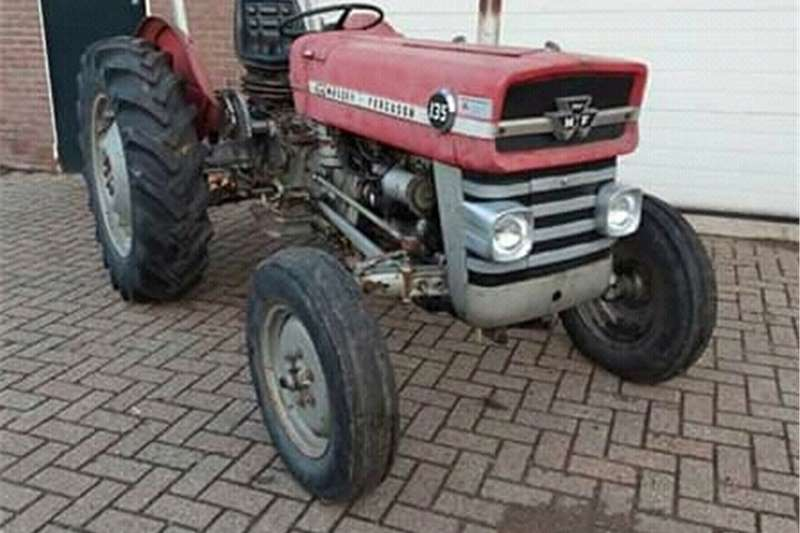 2WD tractors Massey Ferguson Tractor and Slasher for Sale Tractors