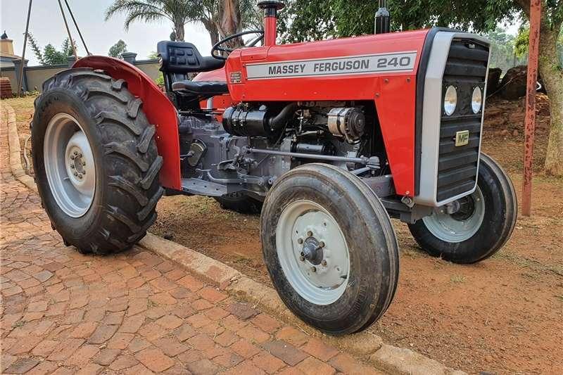 2WD tractors Massey Furgeson 240 Tractors