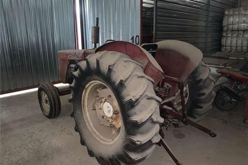 2WD tractors McCormick tractor Tractors