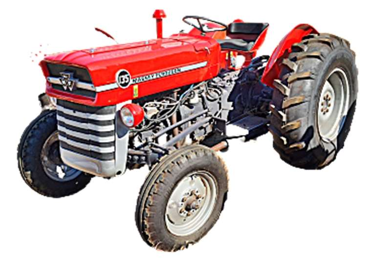2WD tractors MF 135 2WD 34KW Rebuilt to As New spec with Warran Tractors