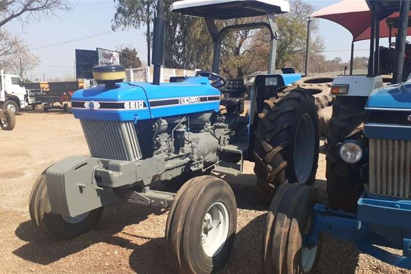2WD tractors New Holland 6610 4X2 Tractors
