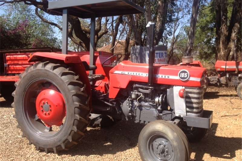 Tractors 2WD tractors S3389 Red Massey Ferguson (MF) 165  2x4 Pre Owned