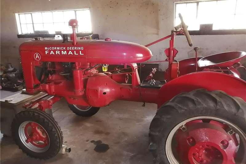 2WD tractors Tractor Farmall A Tractors