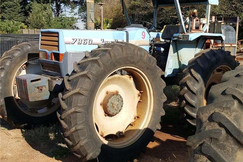 4WD tractors 4x4 Landini 7680 tracktor Tractors