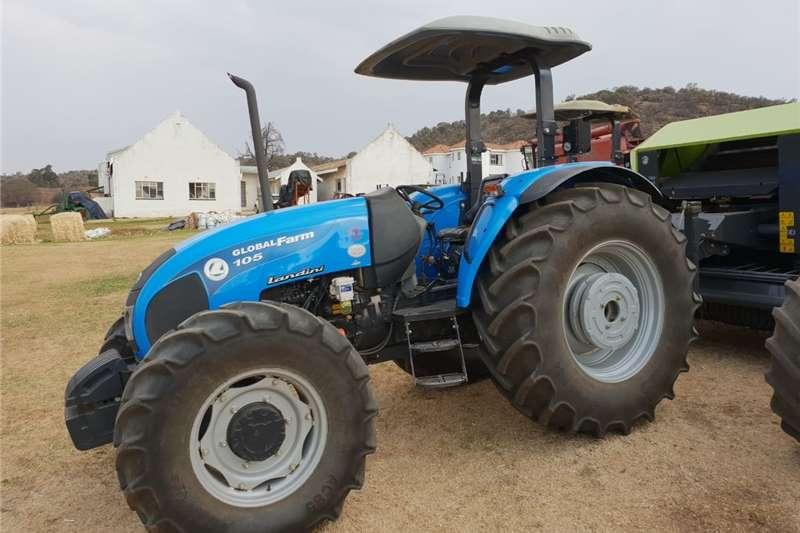 Tractors 4WD tractors Blue Landini Globalfarm 105 DT4x4 2017