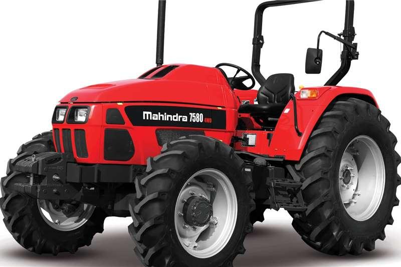 4WD tractors Brand new Mahindra 7580 4wd Tractors Tractors