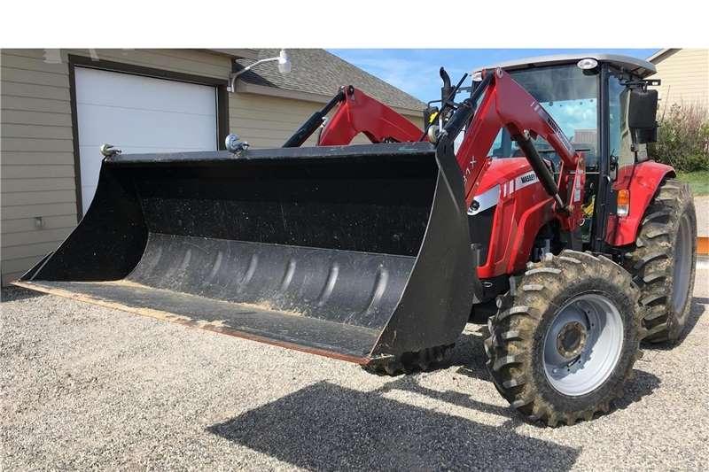 4WD tractors Cab 12 X 12 MF Tractors