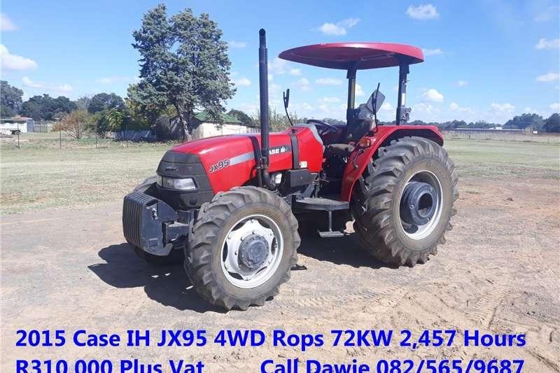 4WD tractors Case IH JX95 4WD Tractors