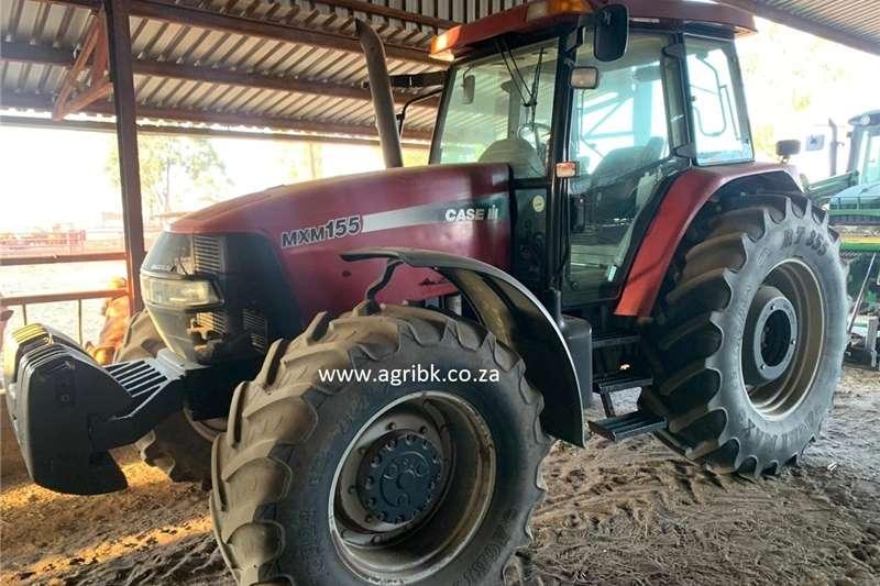 4WD tractors Case MXM 155 Tractors