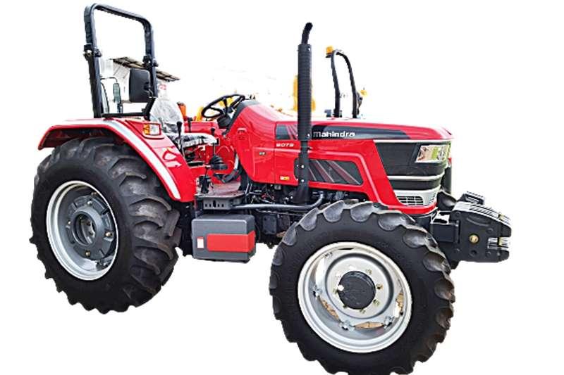 4WD tractors Demo Mahindra Tractor  6075  4wd 55KW Tractors