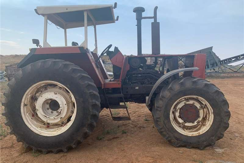 4WD tractors Fiat 140 90 DT Tractors