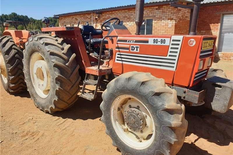 4WD tractors FIAT 90 90 4wd trekker Tractors