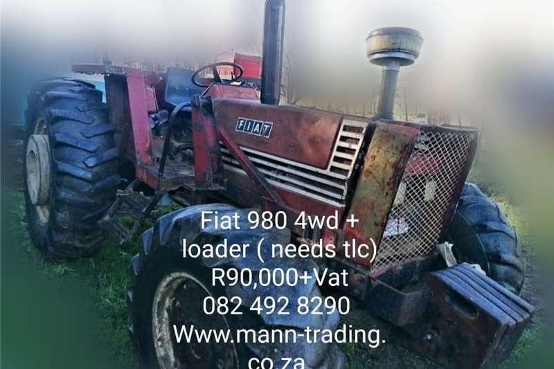 4WD tractors Fiat 980 Tractors