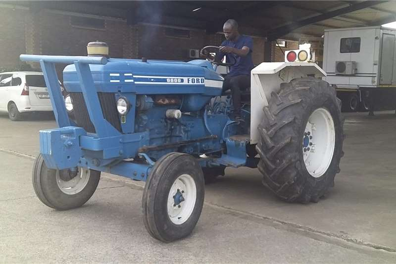 4WD tractors FORD 6600 TRACTOR Tractors