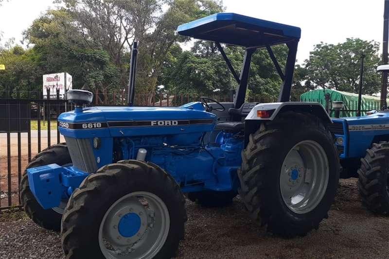 4WD tractors Ford 6610 4x4 Tractors
