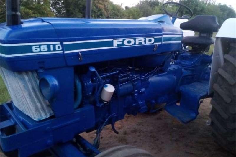 4WD tractors Ford 6610 Tractors