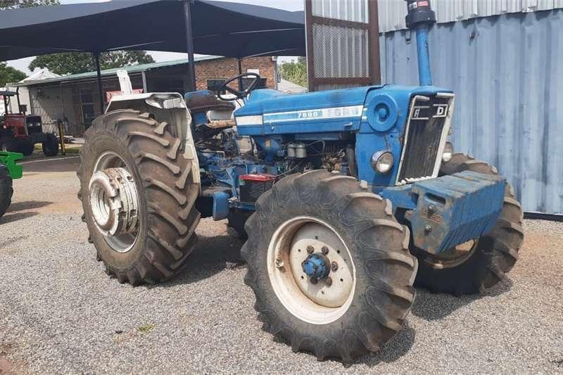 4WD tractors Ford 7600 4x4 Tractors