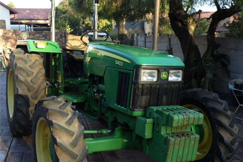 Tractors 4WD tractors John Deere 5403, 4x4, 55Kw Tractor 2014
