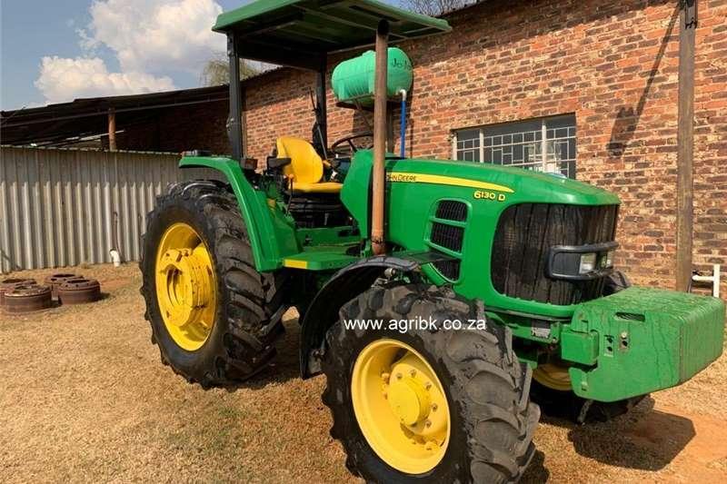 4WD tractors John Deere 6130 D Tractors