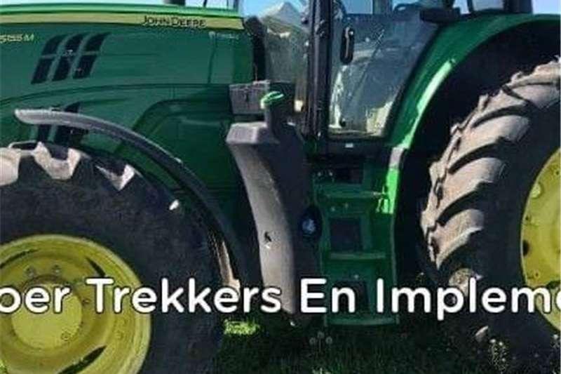 4WD tractors John Deere 6155M Tractors