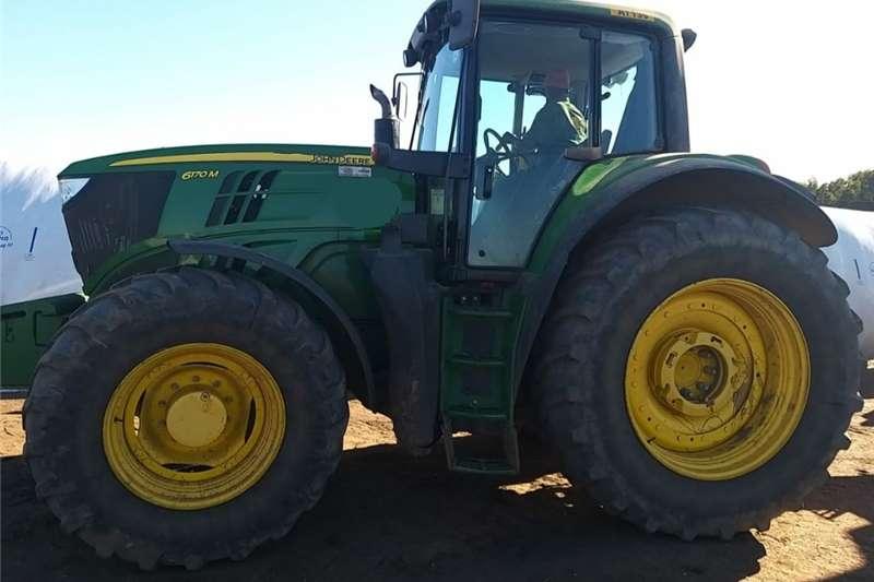 4WD tractors John Deere 6170 M Tractors