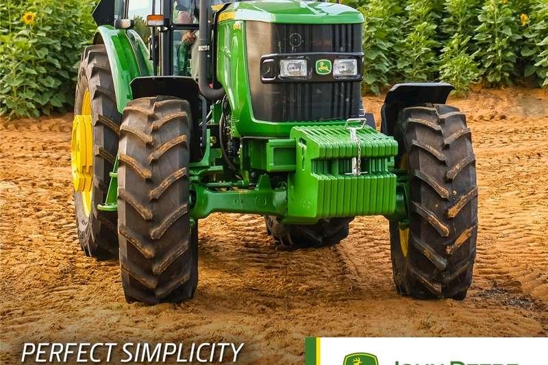 4WD tractors John Deere 6B   JD 6095B Tractors