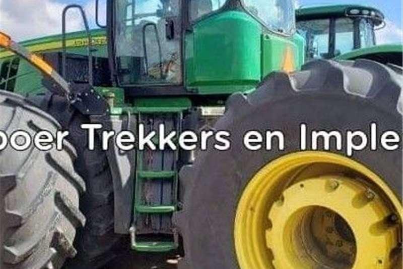 4WD tractors John Deere 9560R 4WD Trekker Tractors