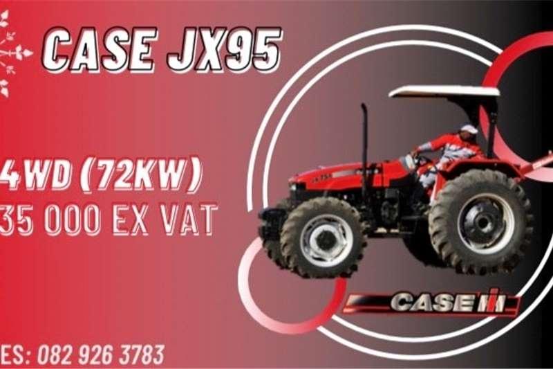 4WD tractors JX95 (72KW, 4wd) CASE  Tractor Tractors